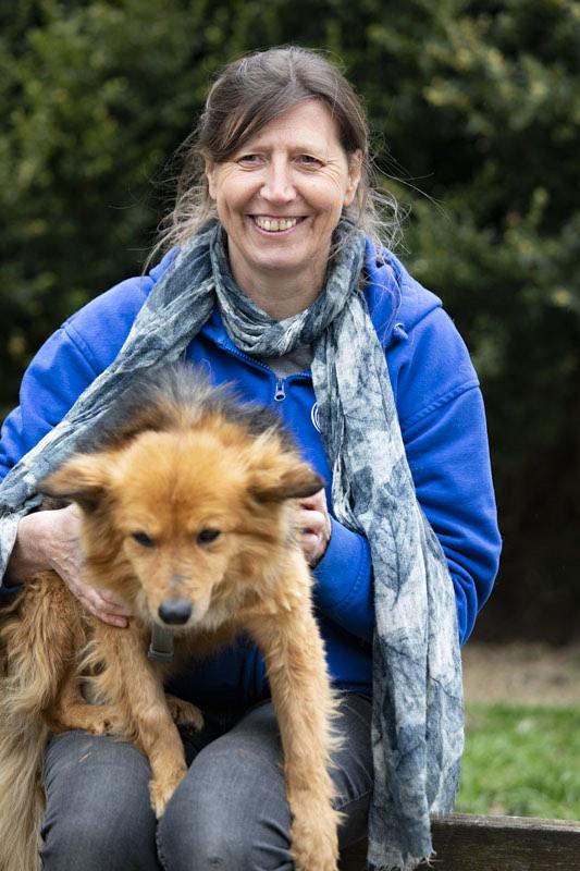 Anja Pertler 2. Vorsitzende Hundefreunde Europa e.V.