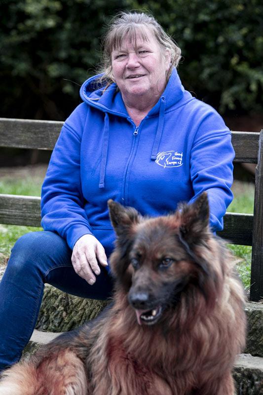 Monika Barth 1. Vorsitzende Hundefreunde Europa e.V.